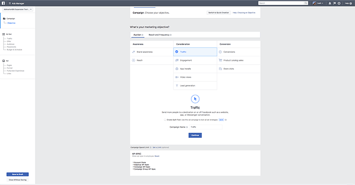 Facebook Ads Manager Guided Creation