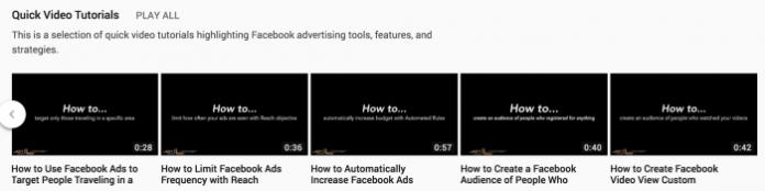 Quick Video Tutorials YouTube