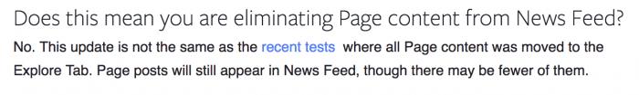 Facebook News Feed Update Explore Tab