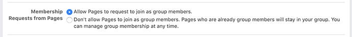 Facebook Group Membership Requests