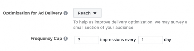 Facebook Ads Frequency Capping