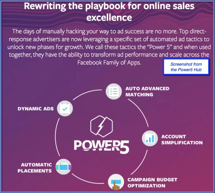 Facebook Power5 Cycle