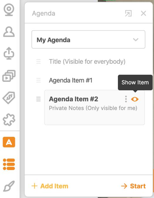 BeLive Agenda