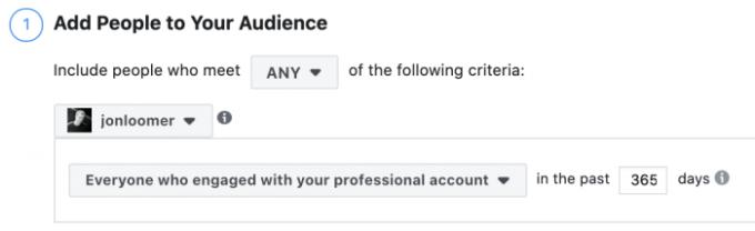 Instagram Account Custom Audience
