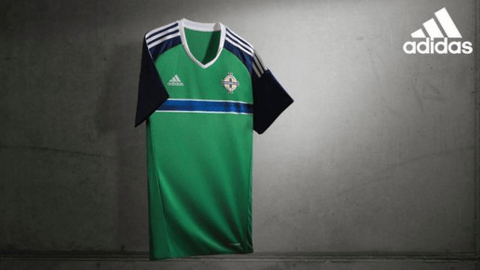 "The new ""Northern Ireland shirt"""