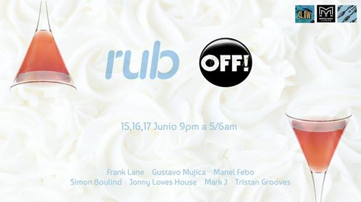 Off Week Party Barcelona @ SLOW CLUB,  Fri 16th June 2017