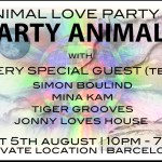 Animal Love Party #3 Barcelona