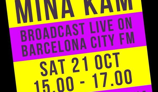 ¿EN TU CASA O EN LA MIA? WITH MINA KAM ON BARCELONA CITY FM