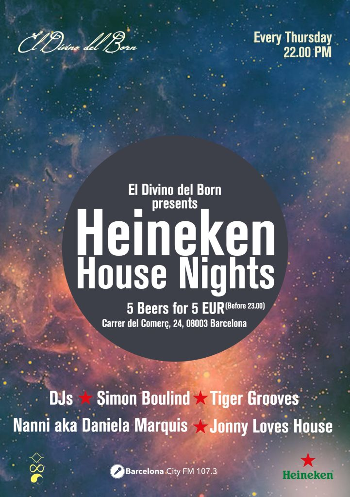 heineken house nights barcelona