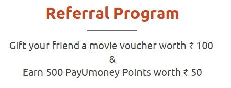 payumoney refer and earn