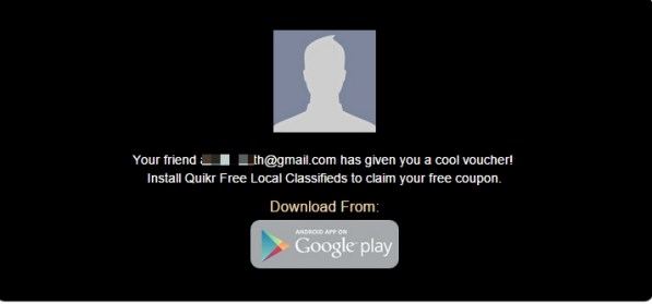 quikr App download offer
