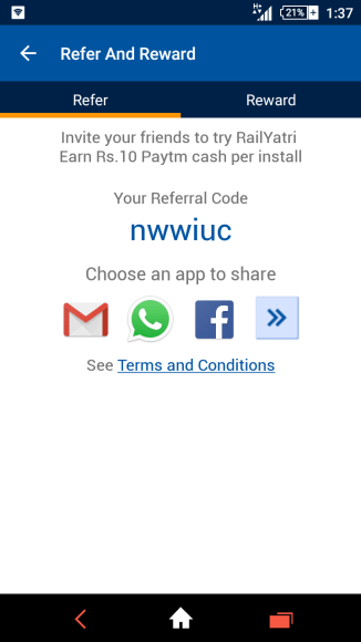 railyatri app offer