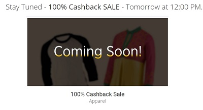 paytm 100 cashback on fashion