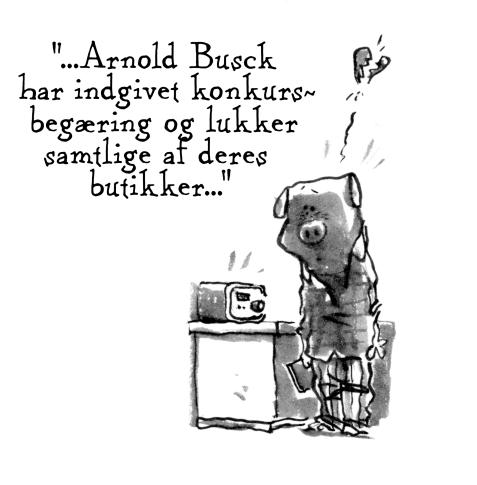 Arnold Busck corona konkur