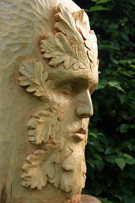 Wood carving crypto party in september