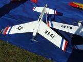 model airplane with kanards