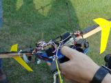 tri-copter setup