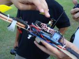 tri-copter electronics setup