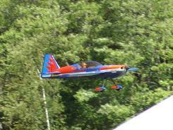 model airplane flight
