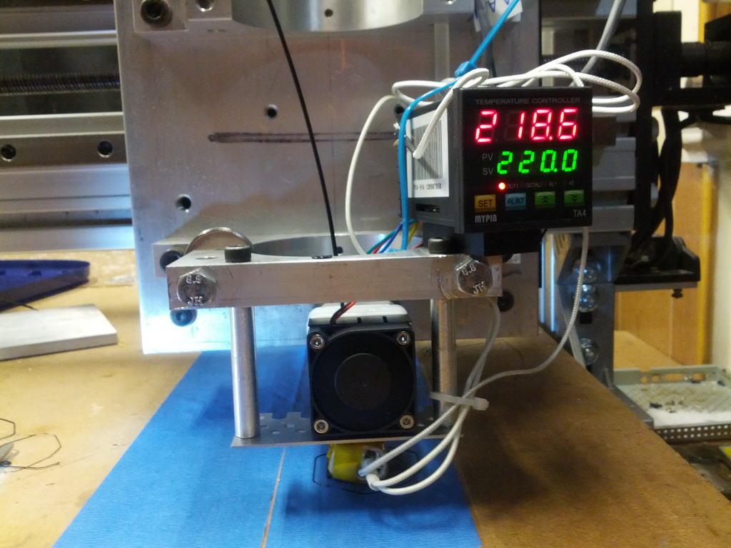 Convert a CNC Router to a 3D Printer