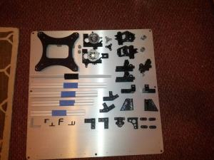 Cloned OB1.4 DIY 3D Printer Parts Ready to Pack and Ship