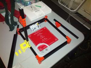 OpenBeam 1.4 RepRap 3D Printer Partially Assembled with RAMPS