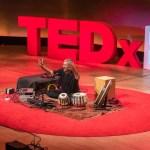 TEDx tabla - Jon Sterckx @ TEDxBrum 2016. ©TEDxBrum