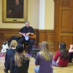 World Rhythm workshop at Hestercombe Centre for Young Musicians