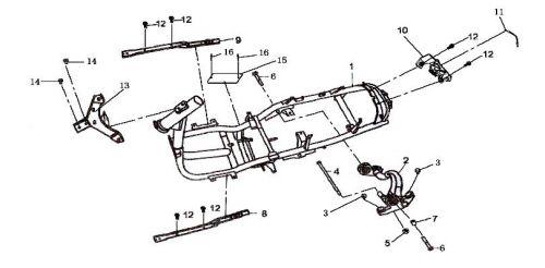 Gy6 Frame Diagram GY6 Engine Wiring Diagram • Creativeand.co