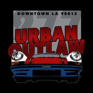 Urban Outlaw 277 red white and blue T-shirt artwork