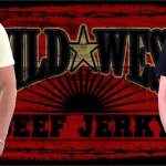 Wild West Beef Jerky T-shirt artwork.