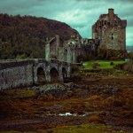 Historic Eilean Donan castle in Scotland.