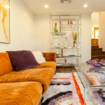 Vintage styled modern day room in Eagle Rock real estate 70s
