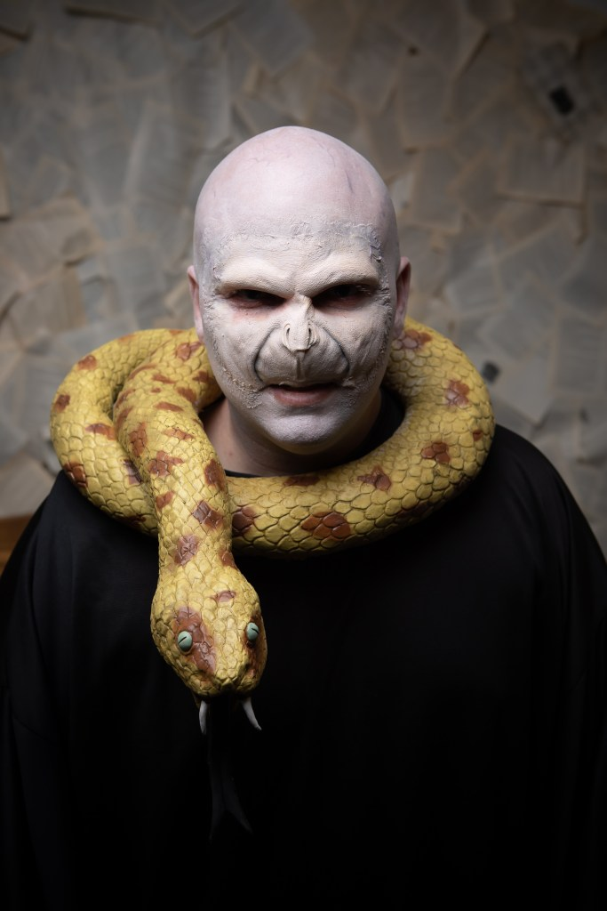 Voldemort Harry Potter cosplay photography
