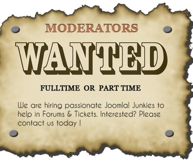 Joomlart Hiring Moderators For Joomla Template Club