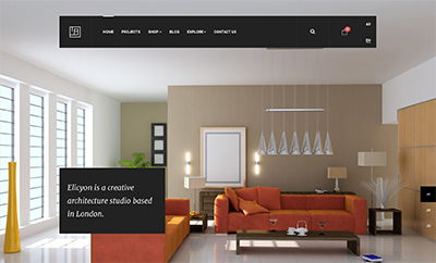 JA Elicyon Responsive Joomla Template For Interior Design Shops