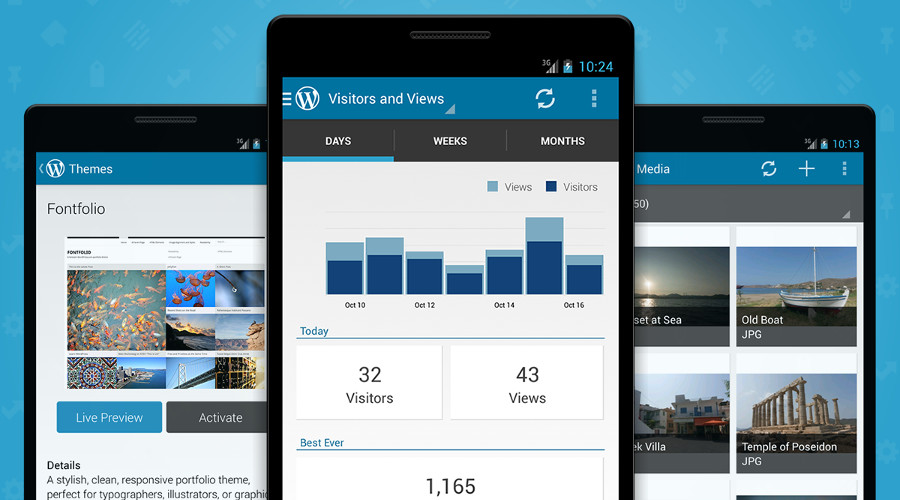 WordPress 4.9 per Android tante novità