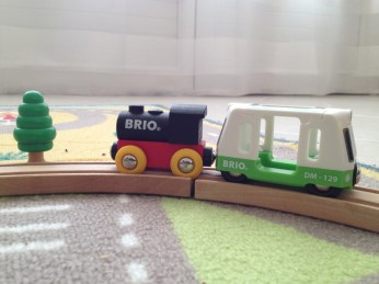 Une jolie locomotive Brio