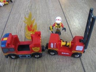 Le camion de pompier Brio version 2016