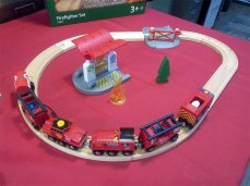 Un circuit de pompier Brio