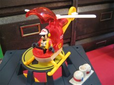 hélicoptère pompier Brio