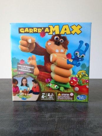 la boite du jeu Garrr'a Max de Hasbro