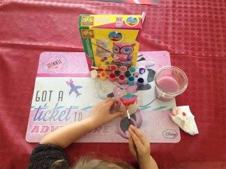 Un loisir créatif qui a eu beaucoup de succès auprès de notre fille.