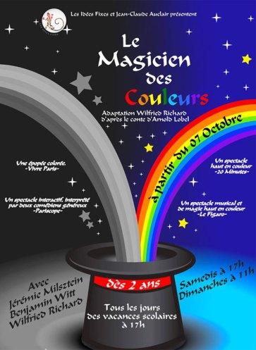 Spectacle : le magicien des couleurs