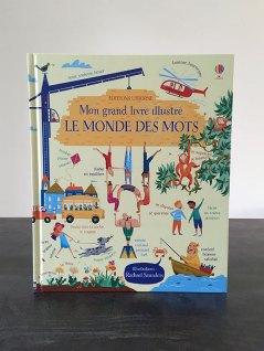 Livre : Mon grand livre illustré Le monde des mots (Editions Usborne)