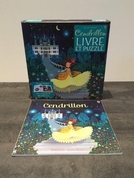 Cendrillon livre et puzzle Usborne