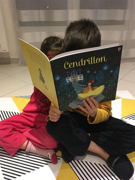 livre Cendrillon pour enfants