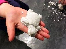 Activité créative : tortue en plâtre