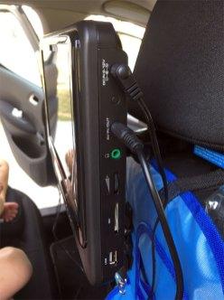 Les câbles de connexion de l'écran D-jix
