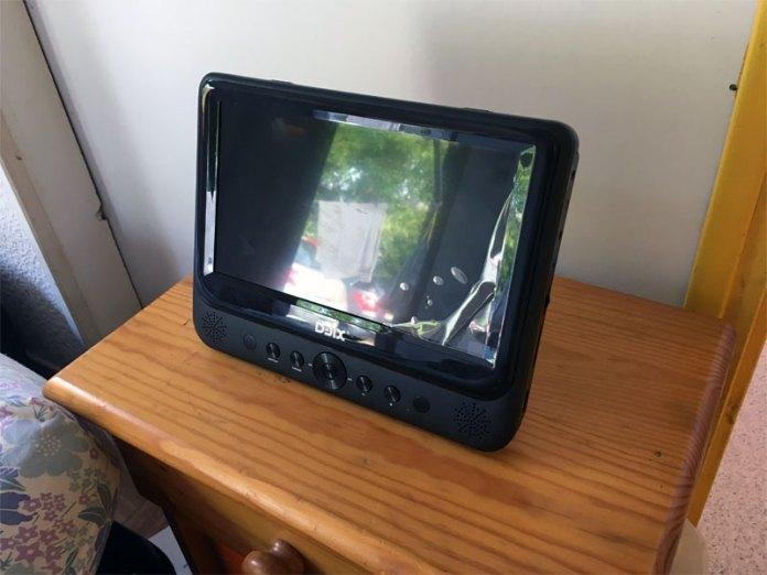lecteur dvd portable D-Jix Logicom